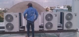 Lắp đặt máy lạnh Quận Bình Tân