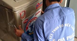 Vệ sinh máy giặt quận 12