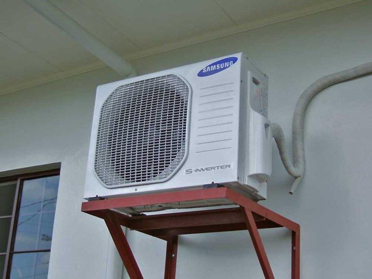 lắp đặt dàn nóng máy lạnh âm trần