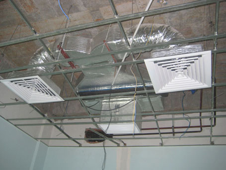 lắp đặt máy lạnh âm trầm Lê Gia phát