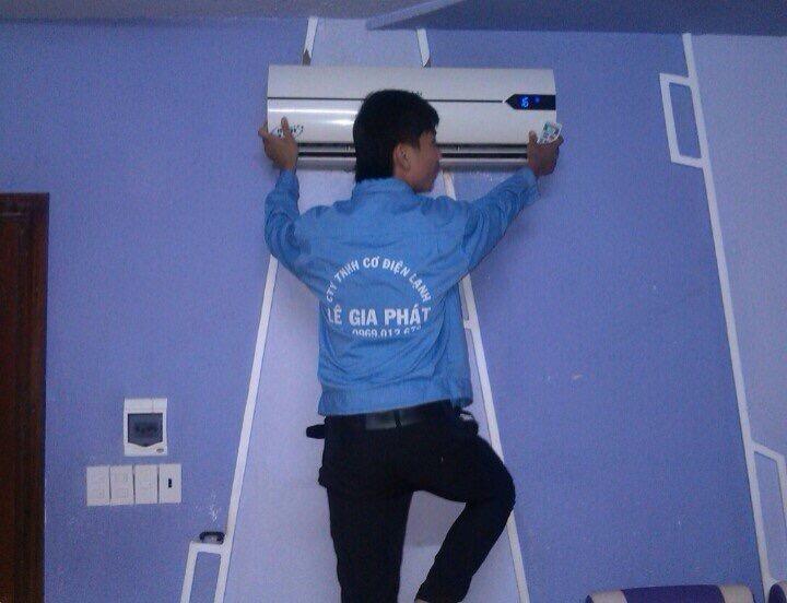 lắp đặt máy lạnh phù hợp